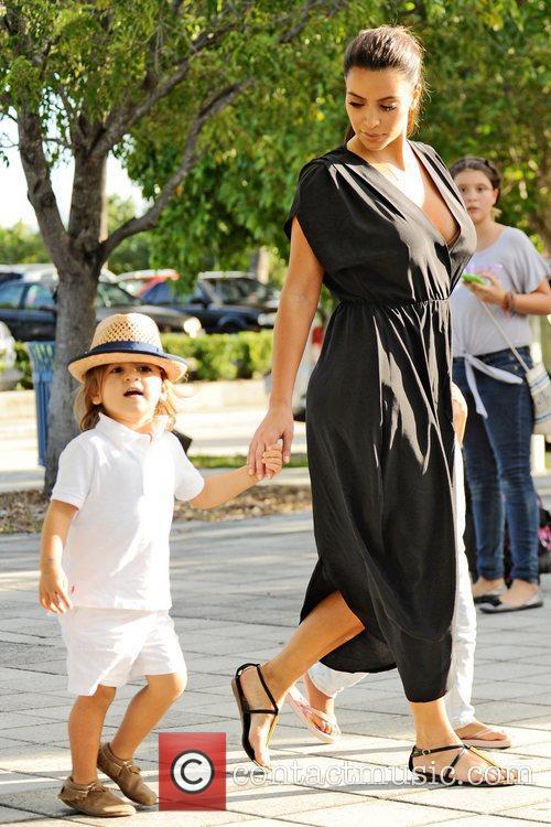 Kim Kardashian and Mason Disick 5