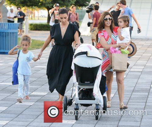 Kim, Kourtney Kardashian, Sophia Pippen, Mason, Penelope Disick and Children's Museum 2