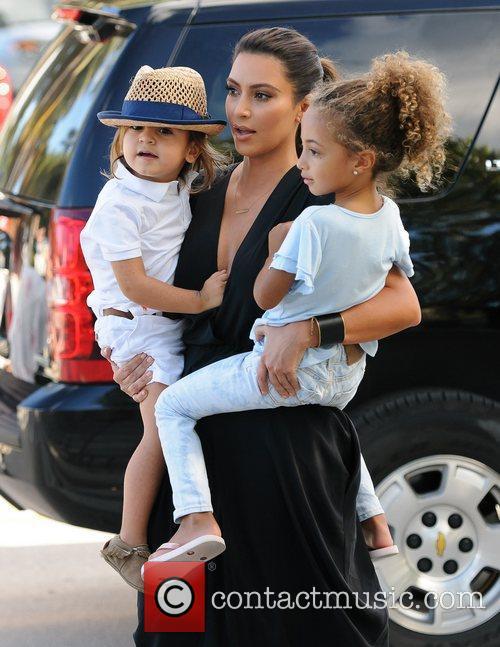 Kim Kardashian, Sophia Pippen and Mason Disick 11