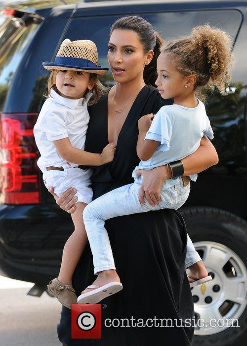 Kim Kardashian, Sophia Pippen and Mason Disick 10