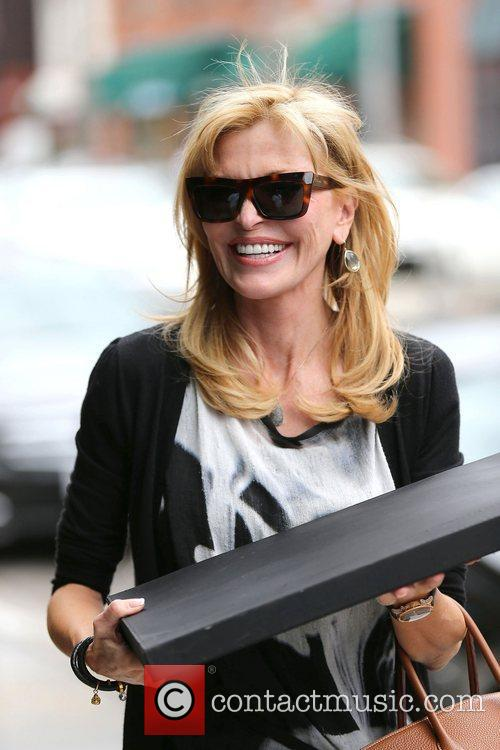 Former Playboy model Kimberley Conrad out and about...