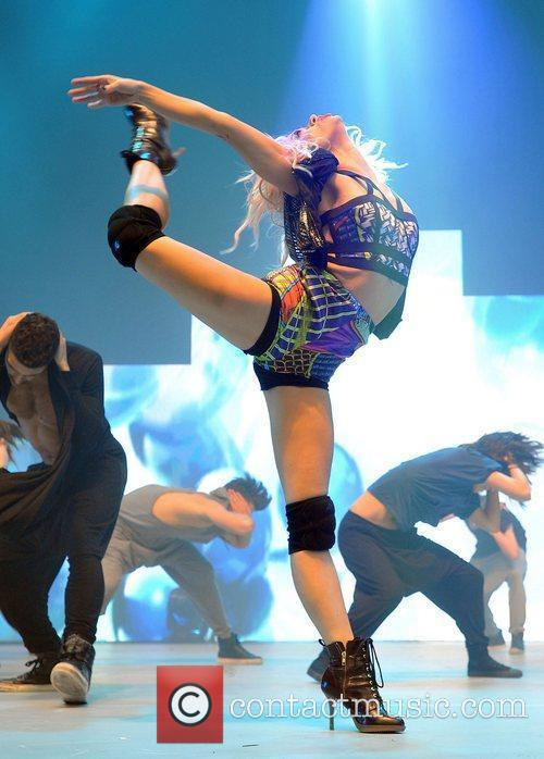 Performs at the UK's biggest dance event 'Move...