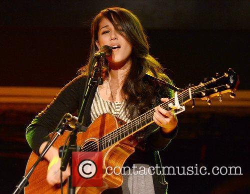 Japanese American guitarist and singer-songwriter Kina Grannis...