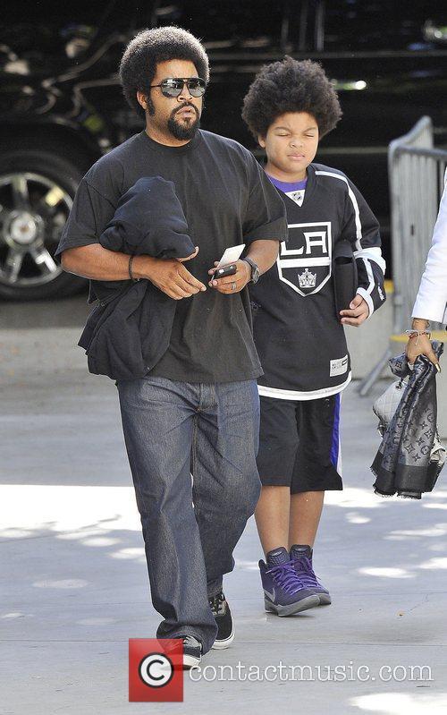 Ice Cube and Shea Jackson 2