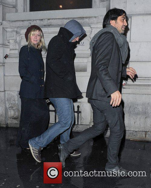 Kirsten Dunst, Garrett Hedlund, Thanksgiving, Christophers Bar, Grill and Covent Garden. Upon 3