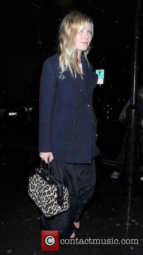 Kirsten Dunst, Garrett Hedlund, Thanksgiving, Christophers Bar, Grill and Covent Garden. Upon 2