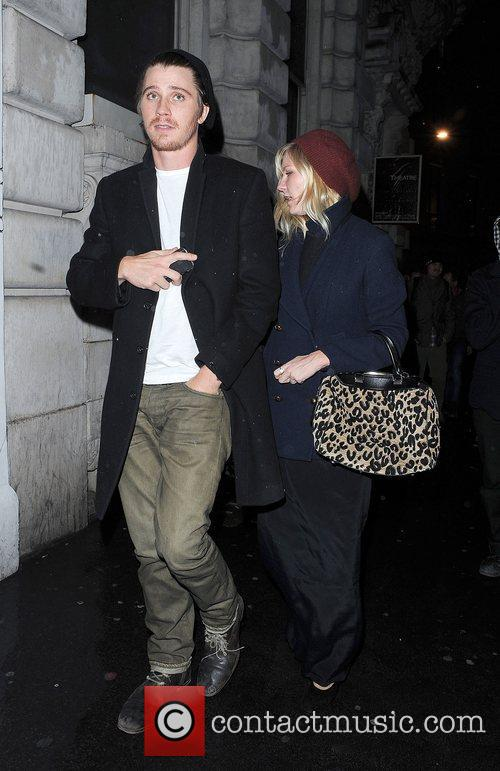 Kirsten Dunst, Garrett Hedlund, Thanksgiving, Christophers Bar, Grill and Covent Garden. Upon 9