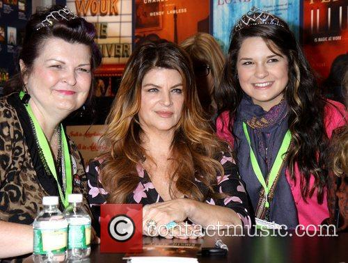 Kirstie Alley poses with fans Kirstie Alley promotes...