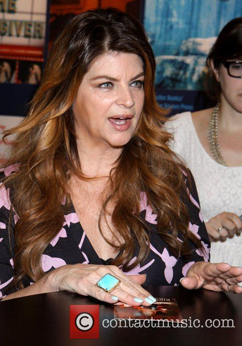 Kirstie Alley promotes her upcoming book, 'The Art...