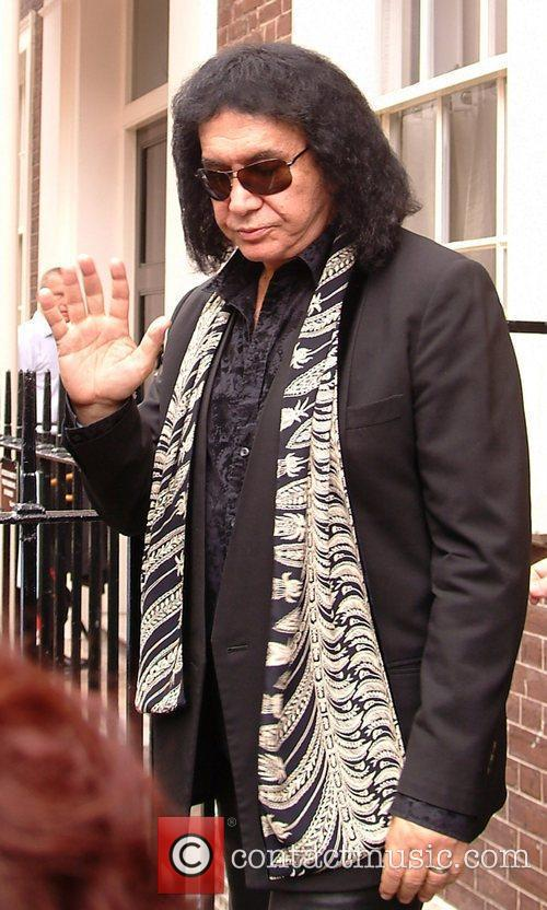 Gene Simmons  of the rock band Kiss...