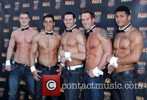 Chippendales and Angel Porrino