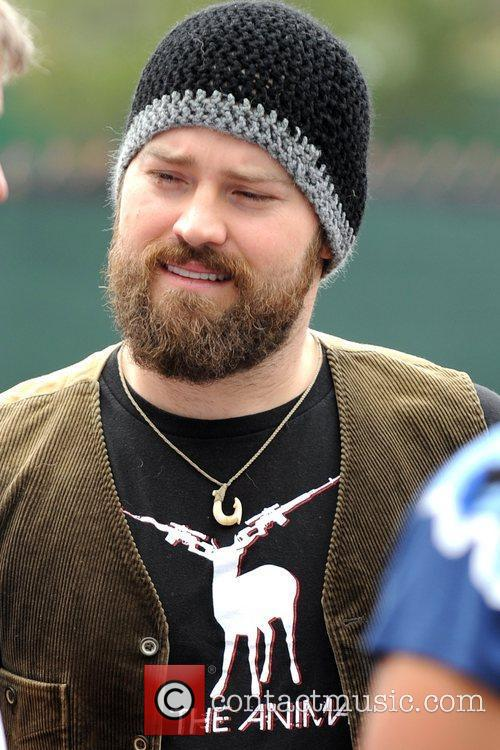Zac Brown performs at the Kiss Country Chilli...