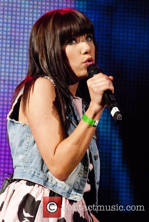 Carly Rae Jepsen 103.5 KISS FM Chicago 2012