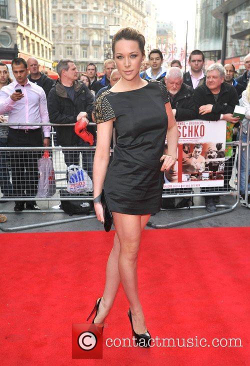 Emily Scott Klitschko - UK film premiere held...
