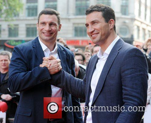 Klitschko - UK film premiere held at the...