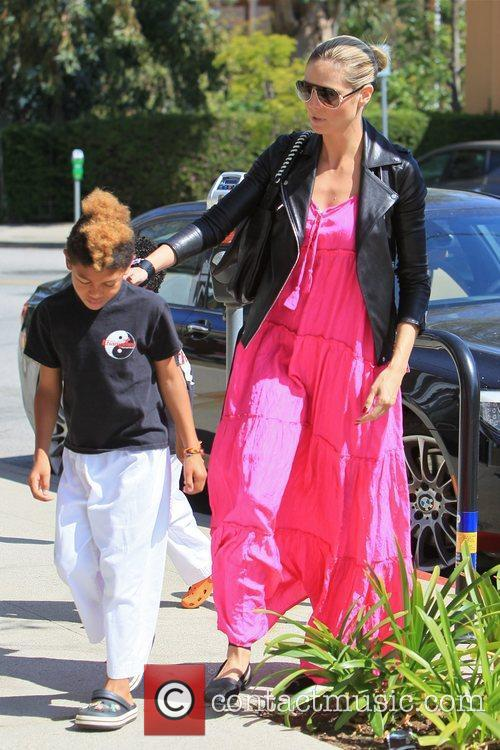Henry Samuel,Heidi Klum Heidi Klum, is seen in...