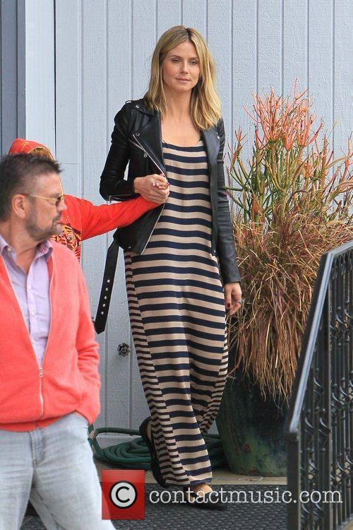 gunther klum and heidi klum escort their 5819279