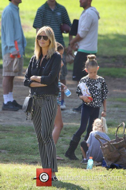 Heidi Klum and Brentwood 1
