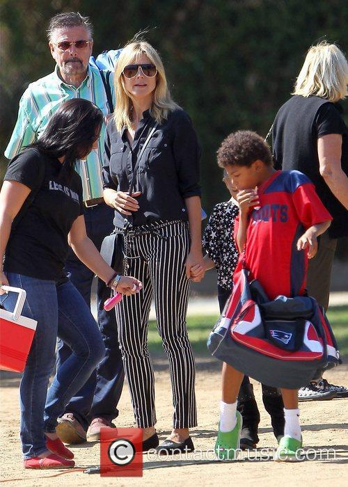 Gunther Klum, Heidi Klum and Henry Samuel 2