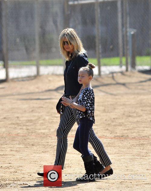 Heidi Klum and Leni Samuel 7