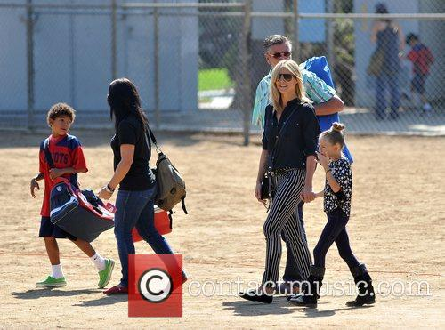 heidi klum watches her sons soccer game 4124770