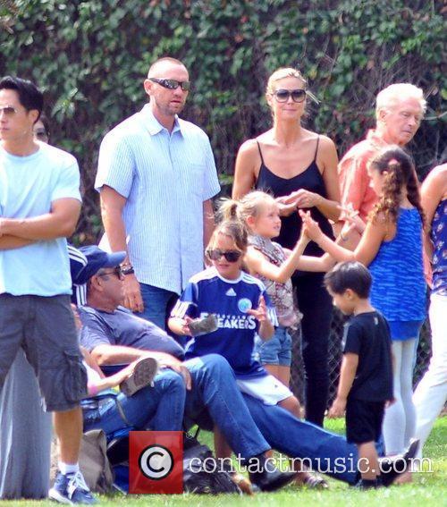 Martin Kristen and Heidi Klum 4