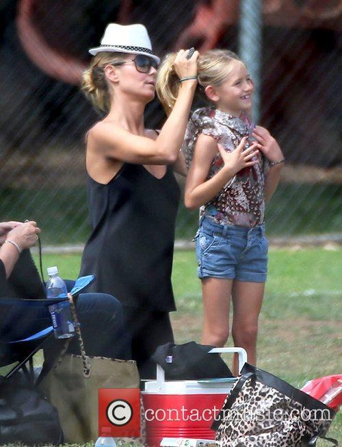 Heidi Klum and Leni Samuel's 4