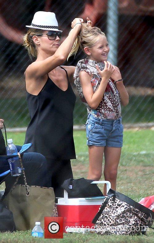 Heidi Klum and Leni Samuel's 6