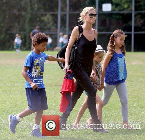 Henry Samuel, Heidi Klum and Leni Samuel 5