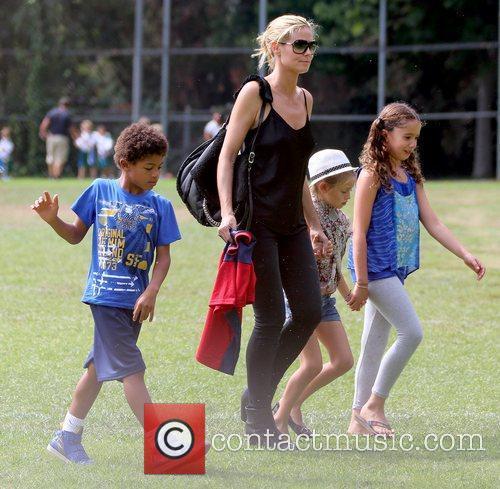 Henry Samuel, Heidi Klum and Leni Samuel 4