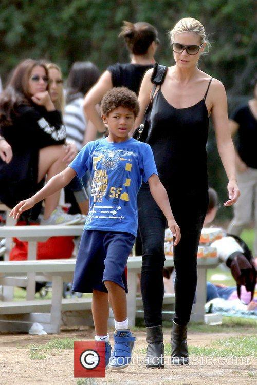 Heidi Klum and Henry Samuel Heidi Klum watches...