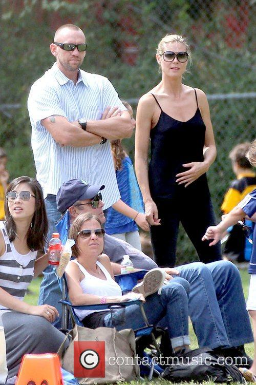 Martin Kristen and Heidi Klum 7