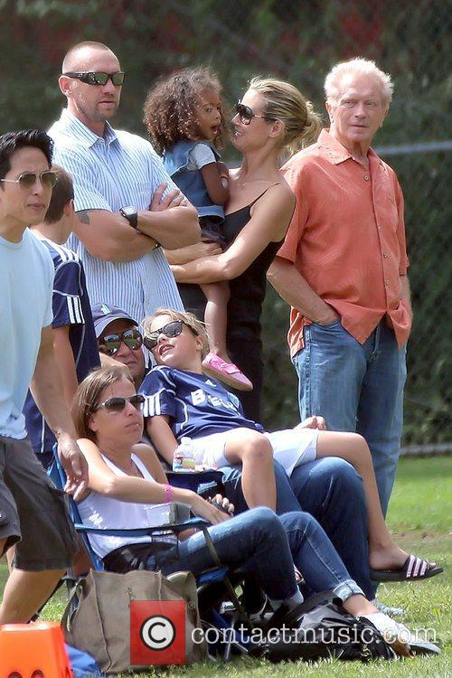 Martin Kristen, Heidi Klum and Lou Samuel Heidi...
