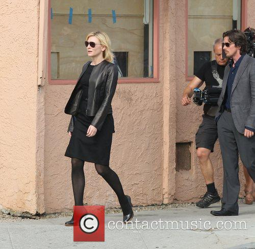 Cate Blanchett and Christian Bale 9