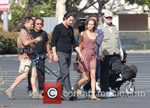 Christian Bale and Isabel Lucas 1