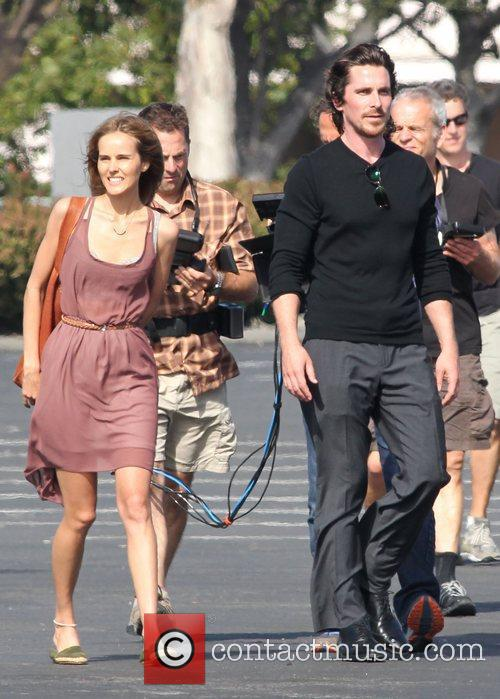 Isabel Lucas and Christian Bale 1