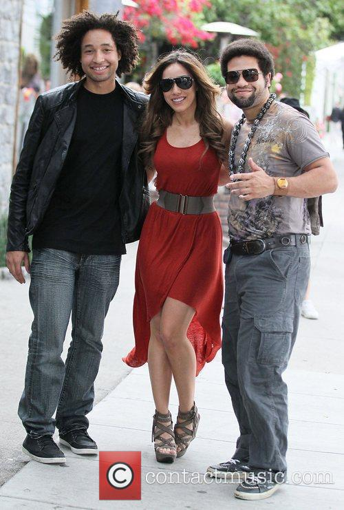 Hispanic American model Korrina Rico collaborates with Josh...