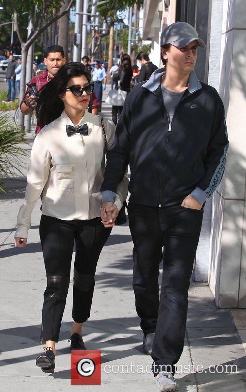 Kourtney Kardashian and Scott Disick 2