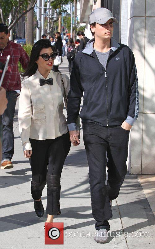 Kourtney Kardashian and Scott Disick 4