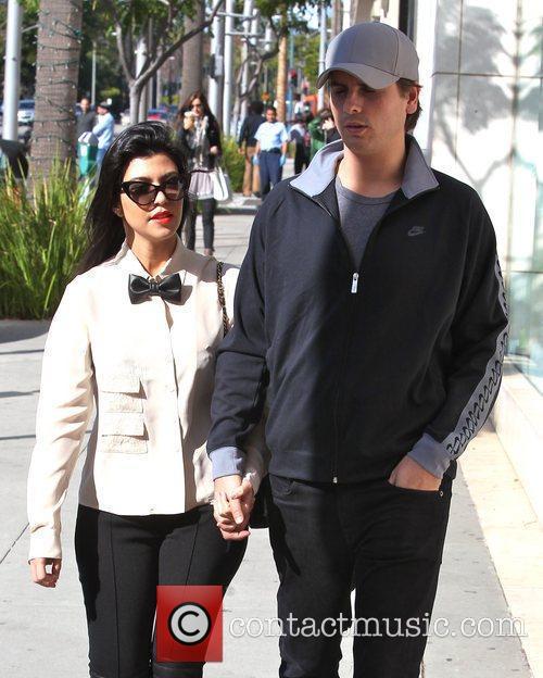 Kourtney Kardashian and Scott Disick 8