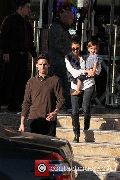 Kourtney Kardashian, Mason and Scott Disick 14