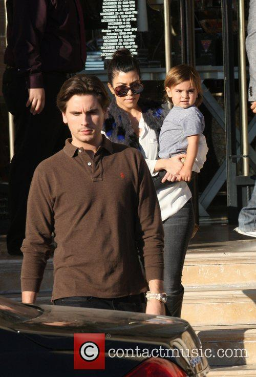 Kourtney Kardashian, Mason and Scott Disick 10