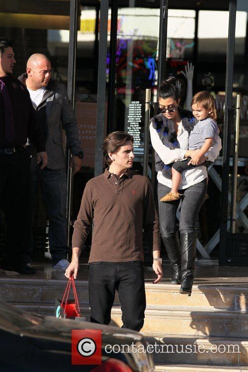 Kourtney Kardashian, Mason and Scott Disick 20