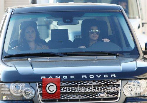 Kourtney Kardashian leaving Barneys New York store in...