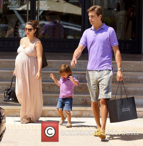 Kourtney Kardashian, Mason and Scott Disick 1