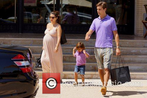 Kourtney Kardashian, Mason and Scott Disick 4