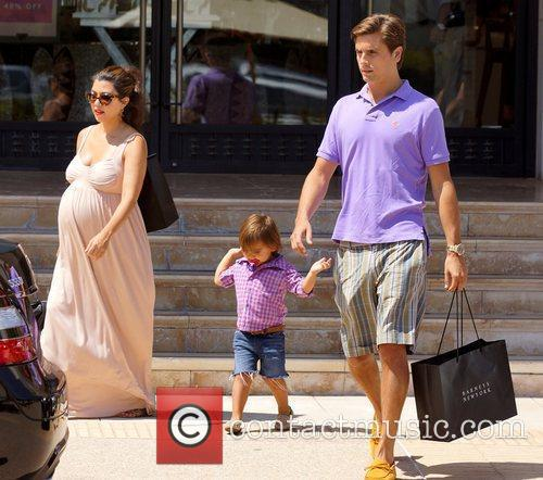 Kourtney Kardashian, Mason and Scott Disick 5