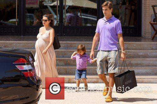 Kourtney Kardashian, Mason and Scott Disick 6