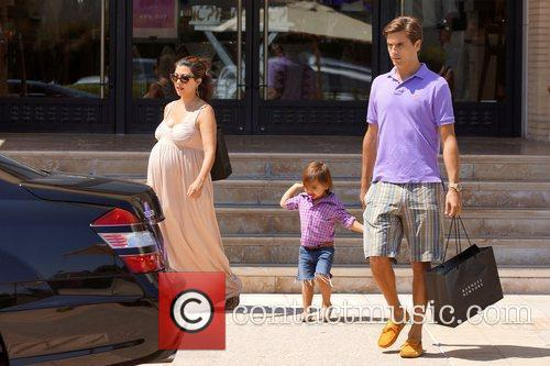 Kourtney Kardashian, Mason and Scott Disick 7
