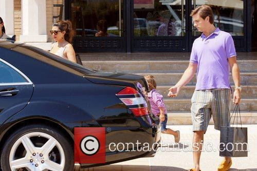Kourtney Kardashian, Mason and Scott Disick 8